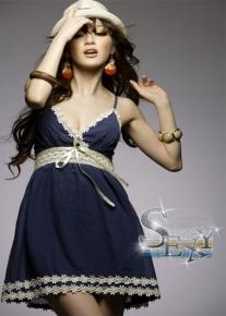 Красивое романтическое платье