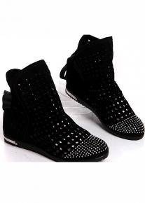 Оригинальные ботинки в сетку