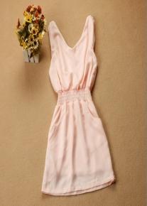 Легкое платье на резинке