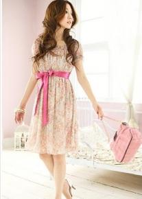Романтичное шифоновое платье