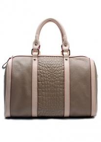 Кожаная сумка в спортивном стиле