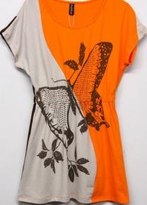 Платье с бабочкой