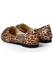 Леопардовые балетки в два цвета