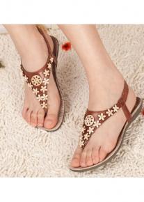 Декорированные сандалии