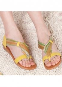 Эффектные тональные сандалии