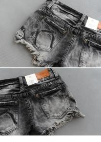 Оригинального фасона раскрывающиеся шорты