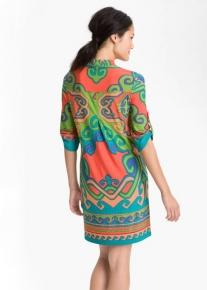 Платье фасона рубашки Emilio Pucci