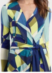 Платье с графическим принтом Emilio Pucci