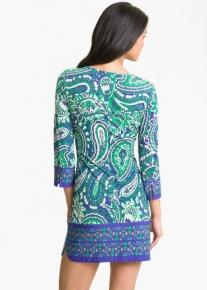 Коротенькое платьице с узорами Emilio Pucci