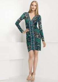 Эффектного кроя платье с принтом Emilio Pucci