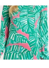 Платьице с тропическим принтом Emilio Pucci