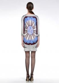 Платье с эффектным орнаментом Emilio Pucci