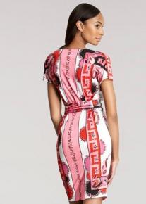 Эффектное платье с поясом Emilio Pucci