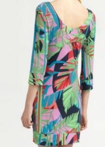 Яркое платье декорированное отделкой Emilio Pucci