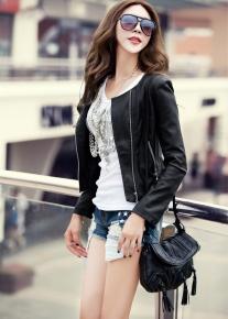 Куртка с гламурной эполетой