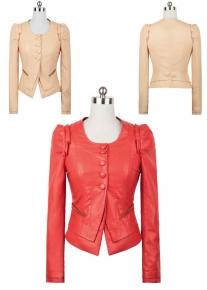Куртка с красивыми рукавами и оригинального фасона
