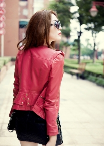 Куртка эффектно декорированная стежками