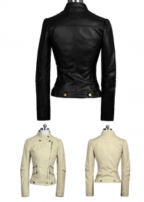 Куртка декорированная двойными карманами