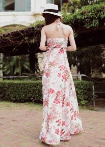 Сарафан с нежным цветочным принтом