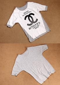 Эффектная футболка со стразами