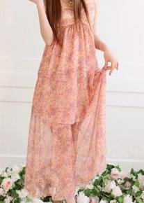 Цветной летний сарафан