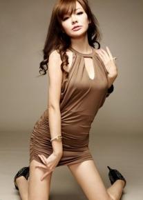 Сексуальное  мини-платье