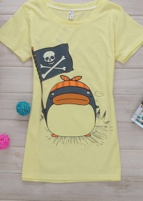 Дизайнерская футболка с рисунком