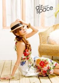 Роскошный длинный сарафан с цветами