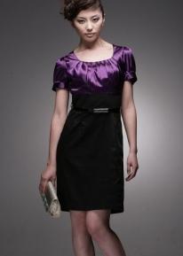 Элегенатное модное платье
