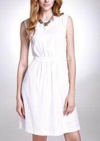 Двустороннее приталенное платье с пуговицами