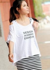 Туника со свободной футболкой