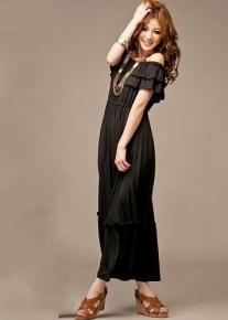 Романтическое длинное платье