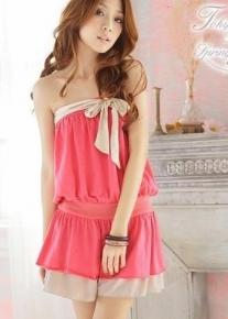 Романтичное нежное платье