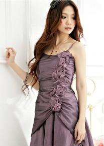 Коктейльное платье с цветами