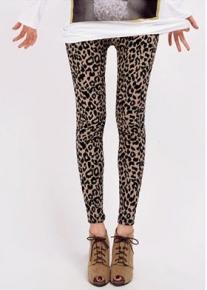 Сексуальные леопардовые леггинсы