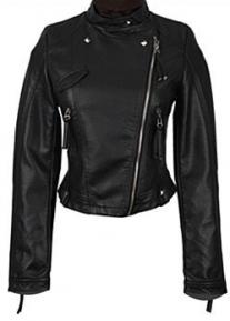 Двубортная приталенная короткая куртка