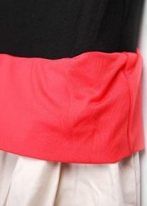 Оригинально платье с розочкой