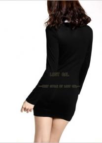 Стильное деловое платье