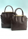 Кожаная сумка для бизнес леди