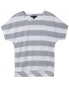 Гипюровая блуза в полоску  O.SA