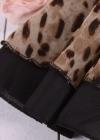 Вечернее леопардовое платье