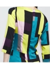 Платье с разноцветным геометрическим принтом Emilio Pucci