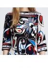 Красивое яркое платье с узорами Emilio Pucci