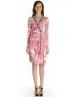 Платье на запахе и с эффектной драпировкой Emilio Pucci