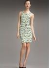 Облегающее платье с узорным орнаментом Emilio Pucci