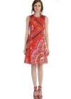 Приталенное трапециобразное платье Emilio Pucci