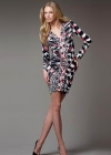Эффектное платье с динамичным принтом Emilio Pucci