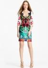 Платье с эффектным декольте Emilio Pucci