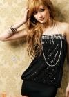 Модное платье с  пайетками