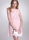 Элегантное нежное платье опоясанное на талии